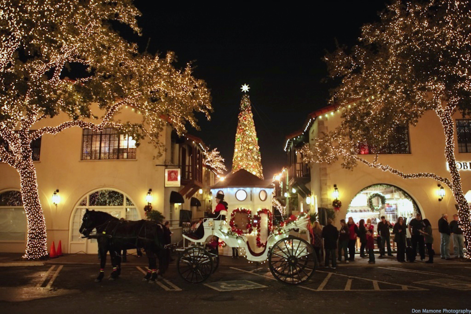 Christmas Lights At Highland Park 2020 Highland Park Village Carriages   THREEJAYS CARRIAGES